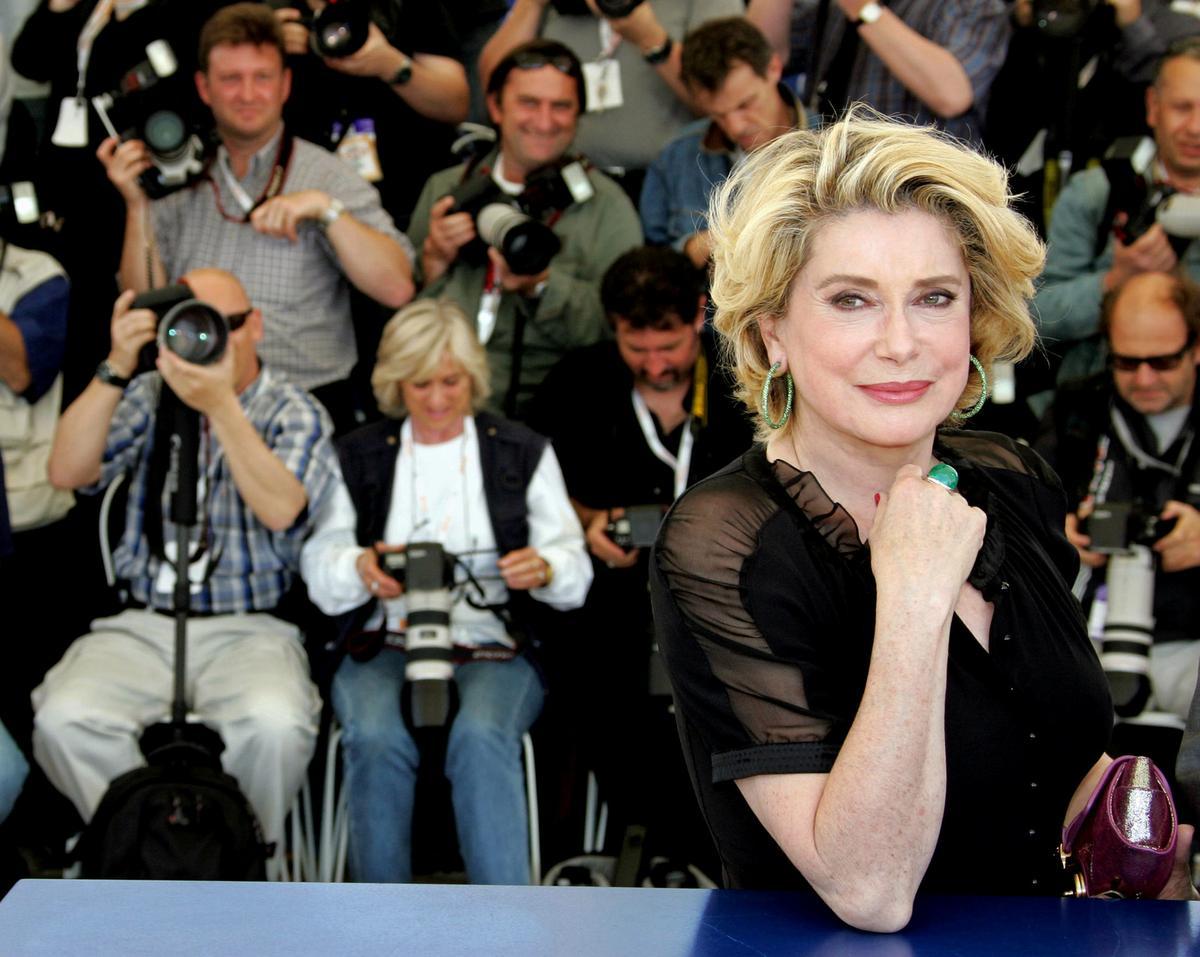 French film huge title Deneuve hospitalized after 'restricted' stroke thumbnail