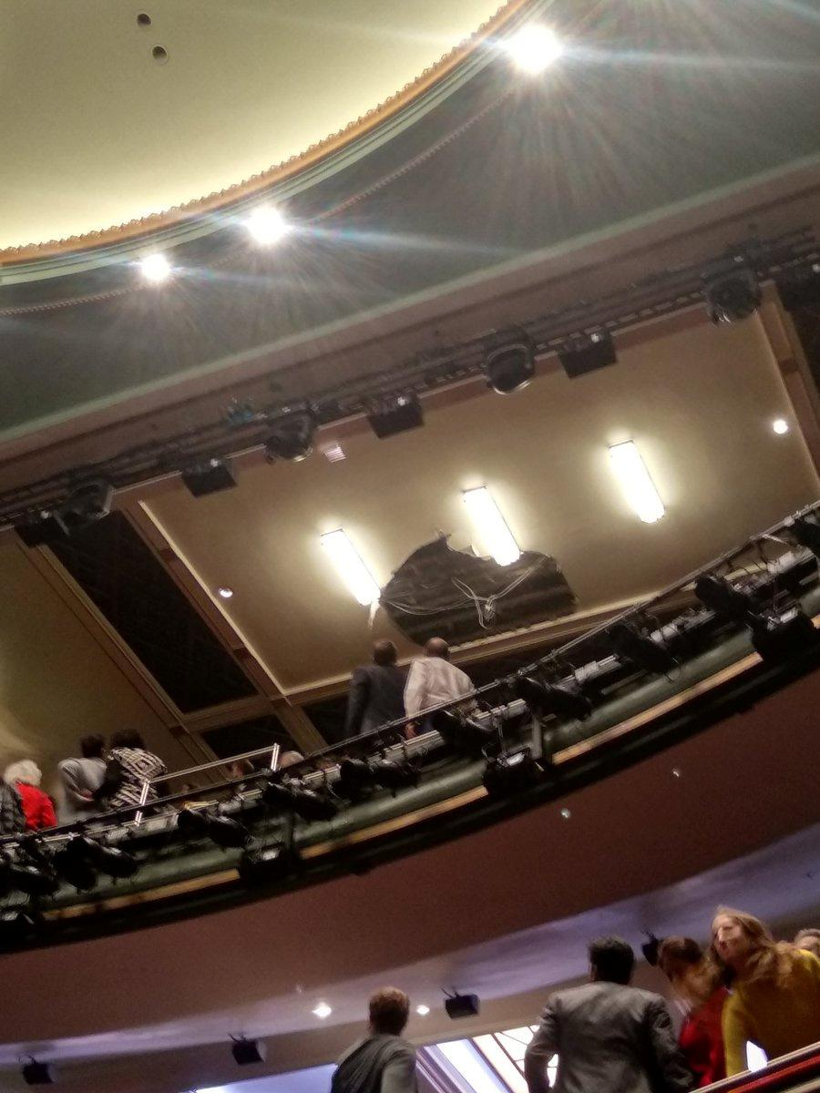 'Death of a Salesman' halted when ceiling collapses at London...