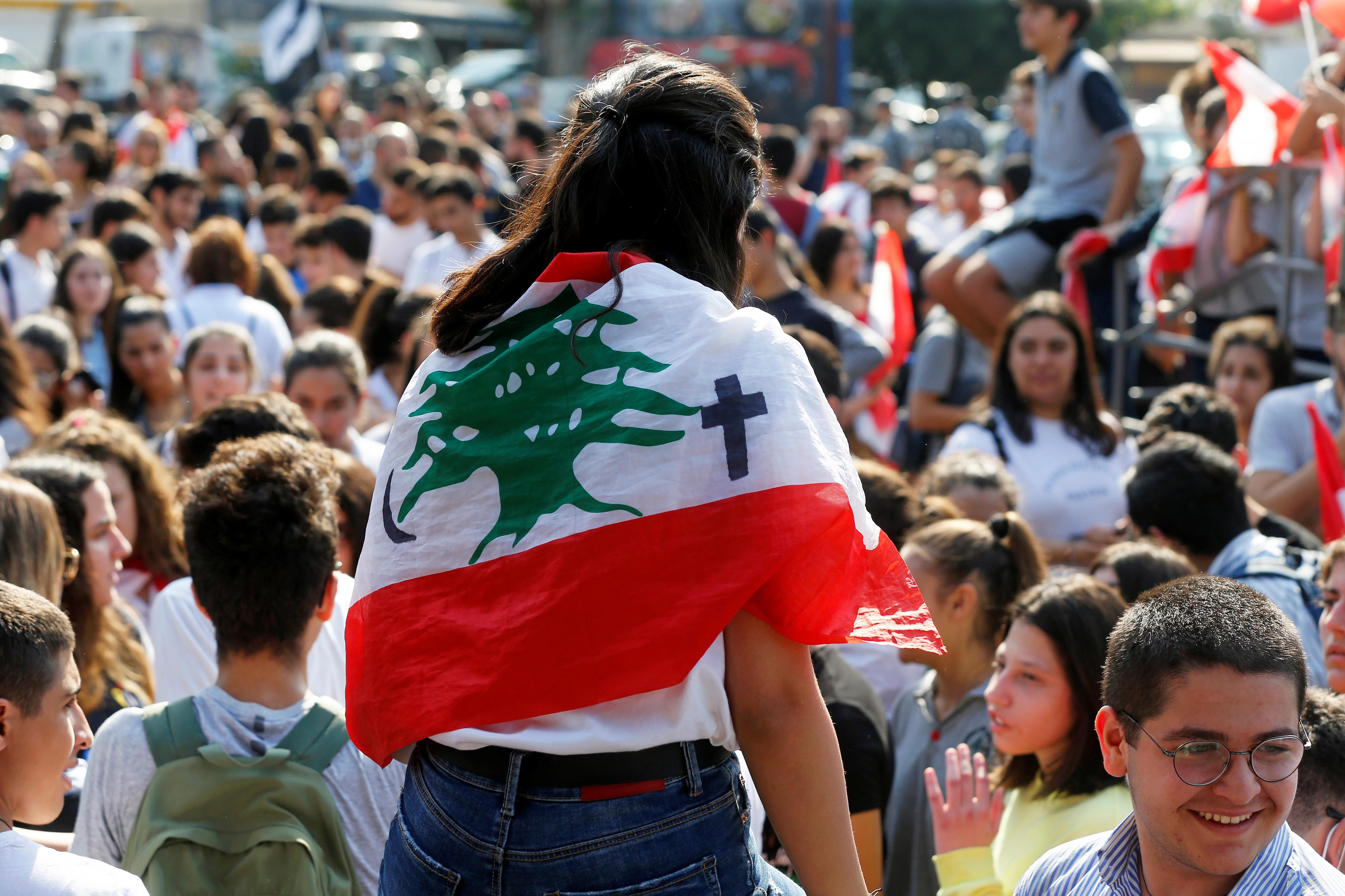 """Le Liban est une """"belle idée"""" qui a besoin d'un redémarrage, déclarent les manifestants"""