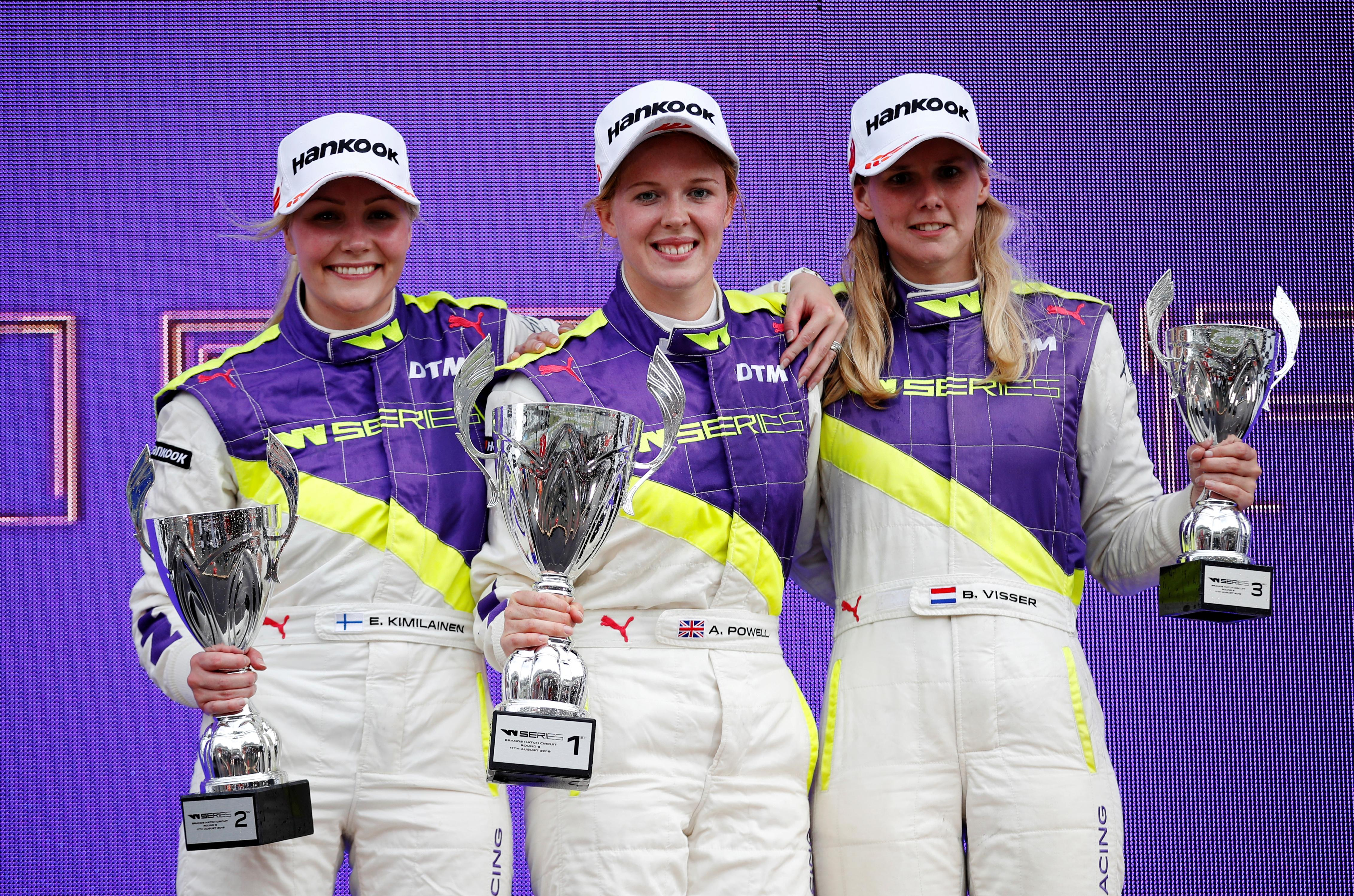 Motor racing: W Series to make a profit in year three, says founder