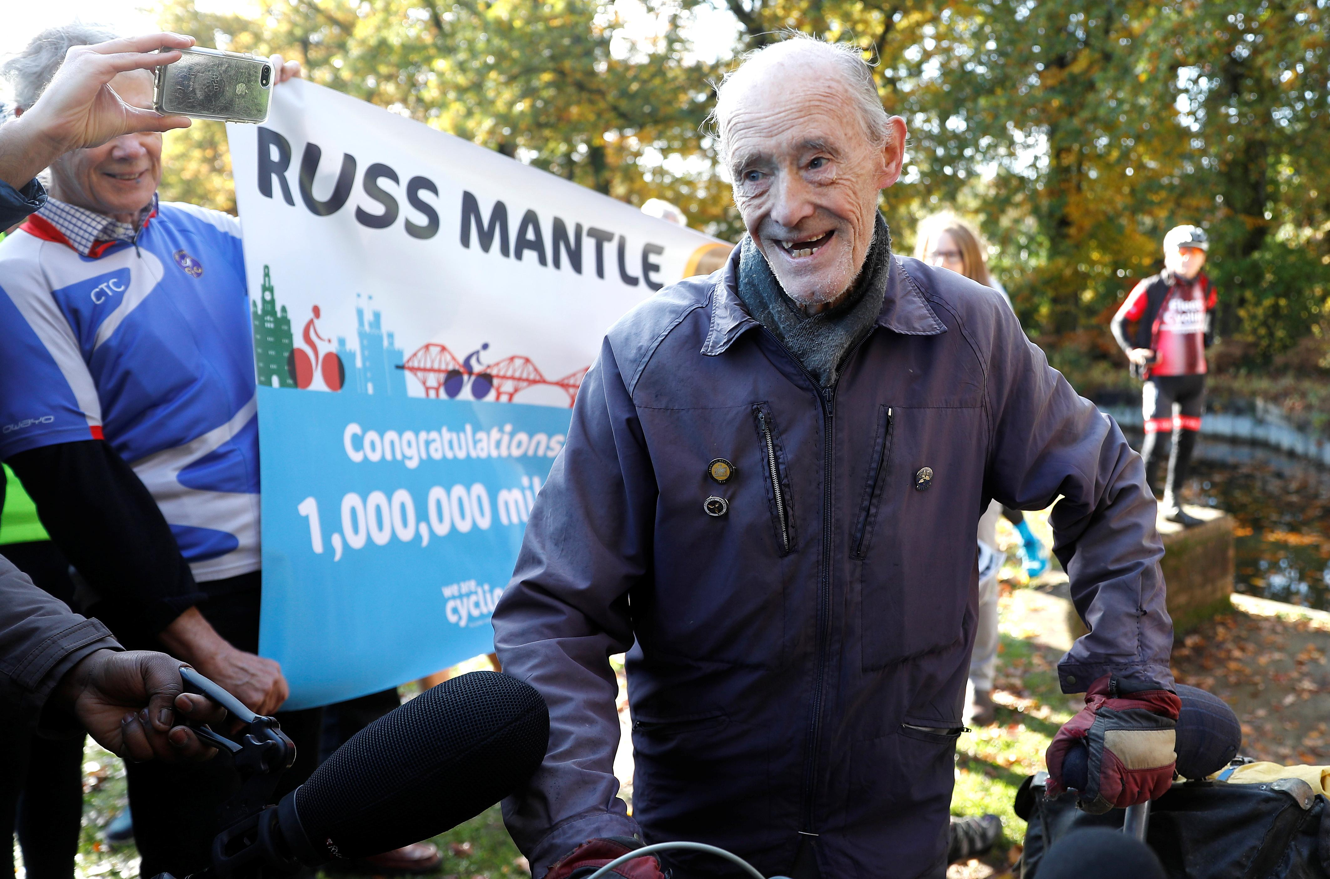 British 82-year-old makes his million in the saddle