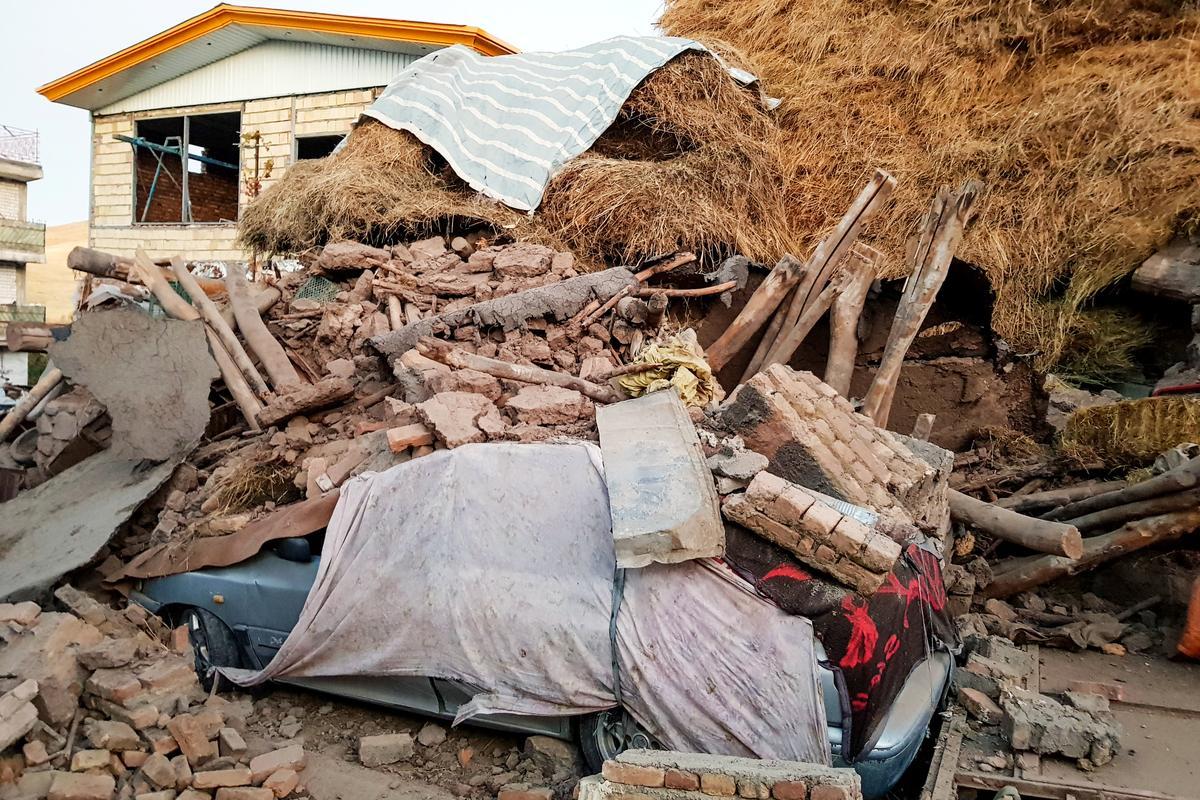 Trận động đất Iran giết chết ít nhất sáu người, làm bị thương 300: TV