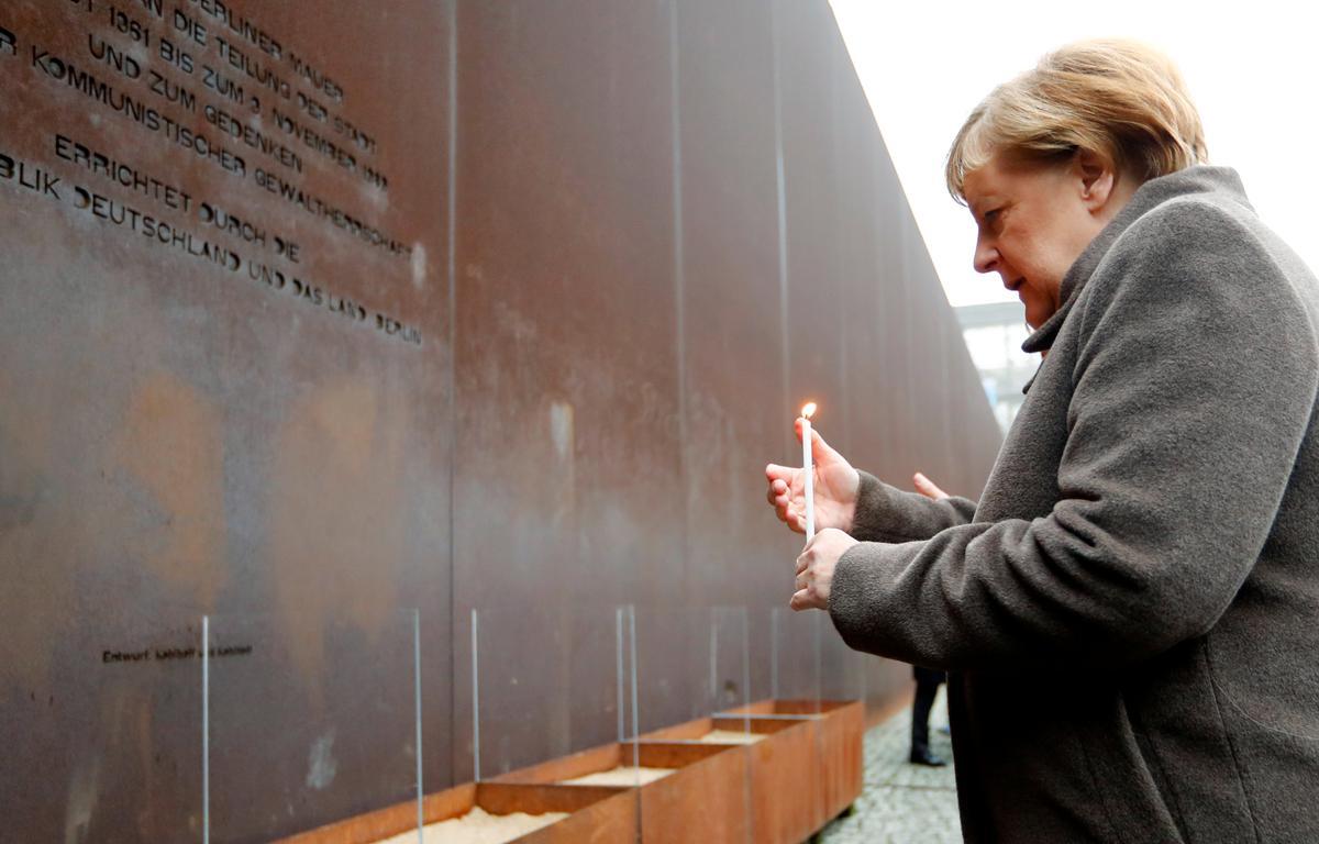 Germany celebrates 30th anniversary of Berlin Wall's fall