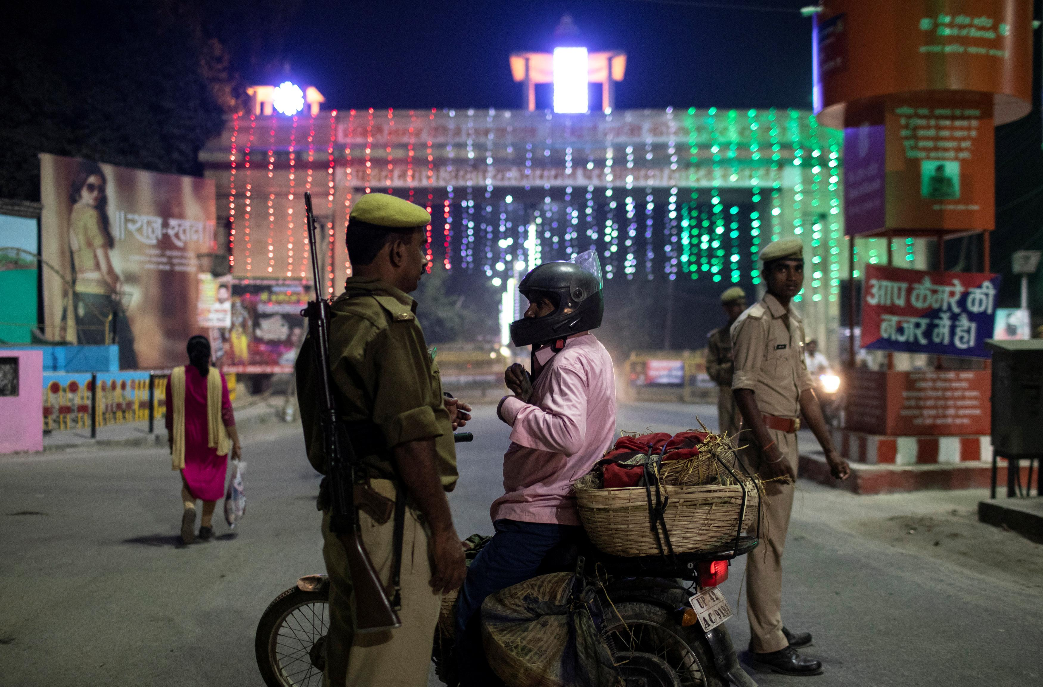 UPDATE 3-India detains users over inflammatory online posts after religious site ruling