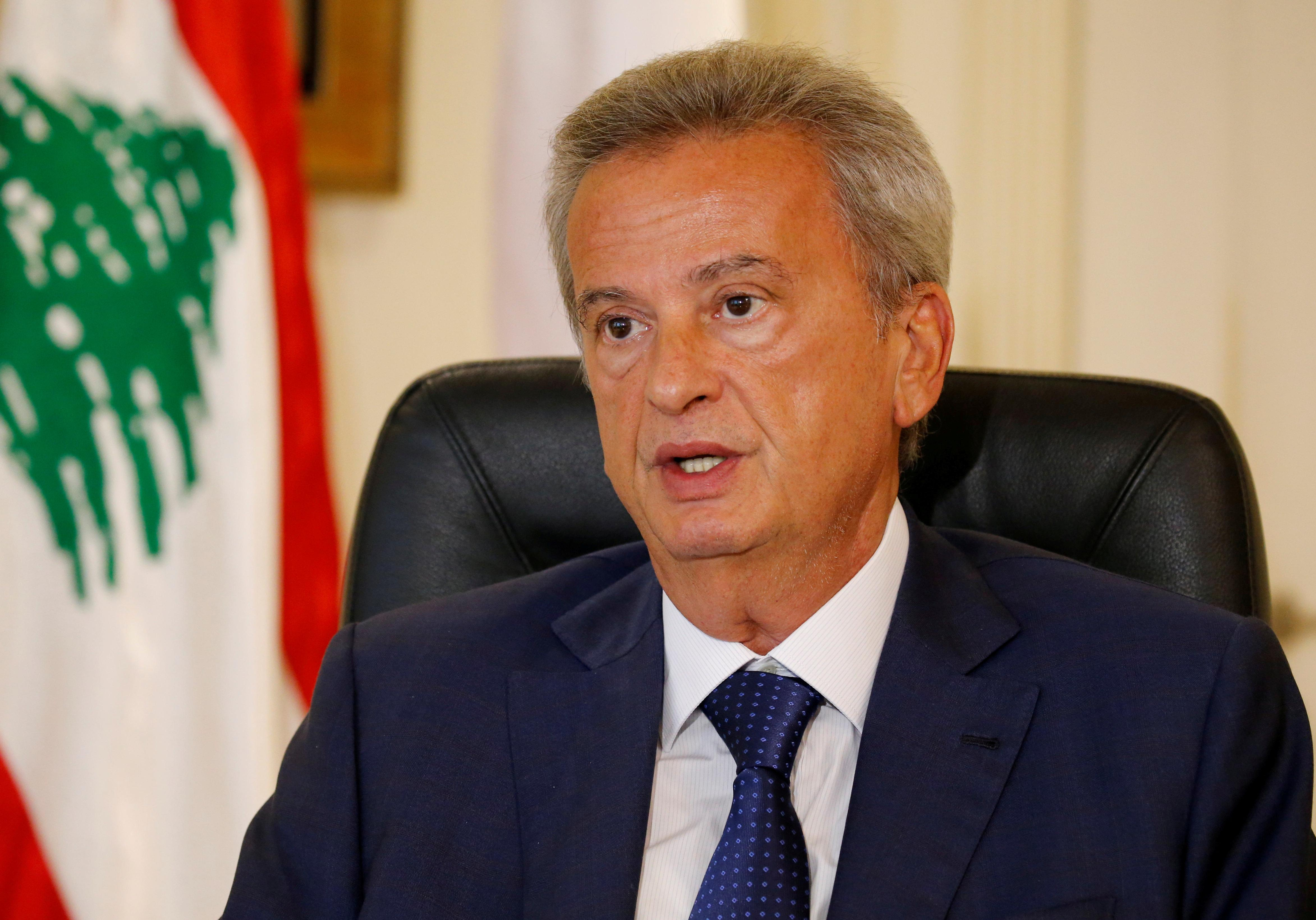 Lebanon central bank says bank deposits are safe, banks to review...