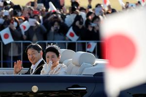 Grand enthronement parade for Japan's Emperor Naruhito