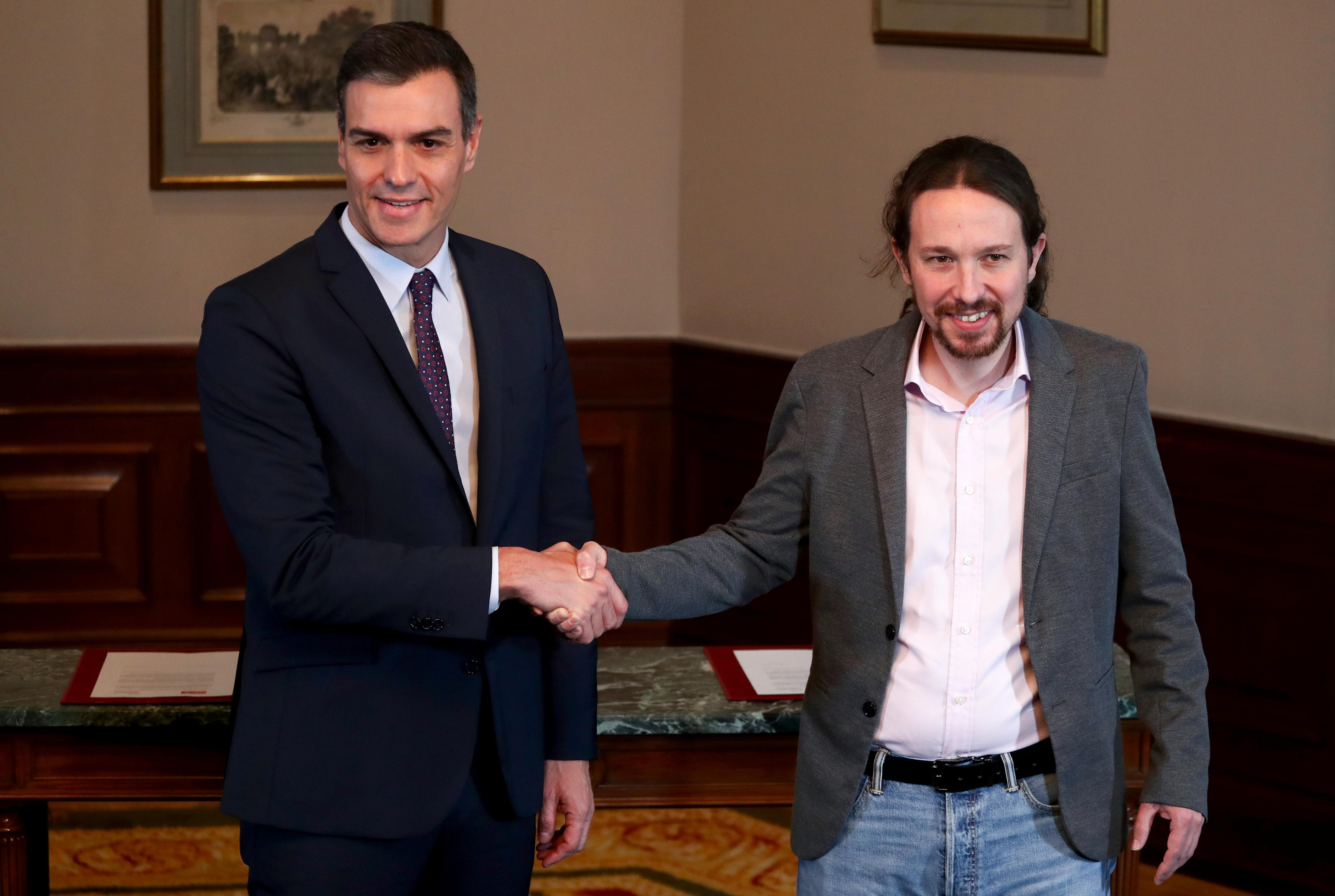 Spain's Socialists and Podemos reach unexpected deal to form a...
