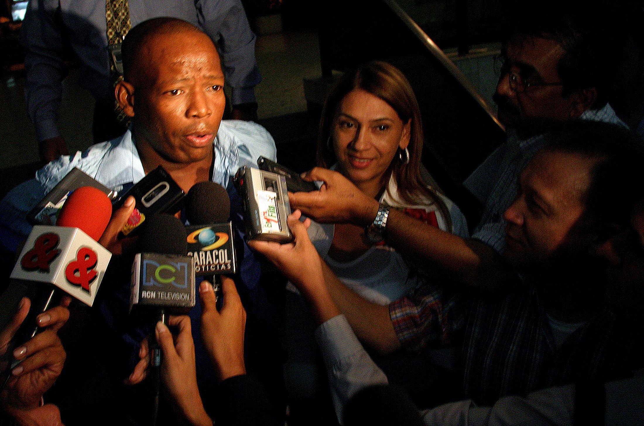 Asprilla says hitman wanted to kill Paraguay's Chilavert