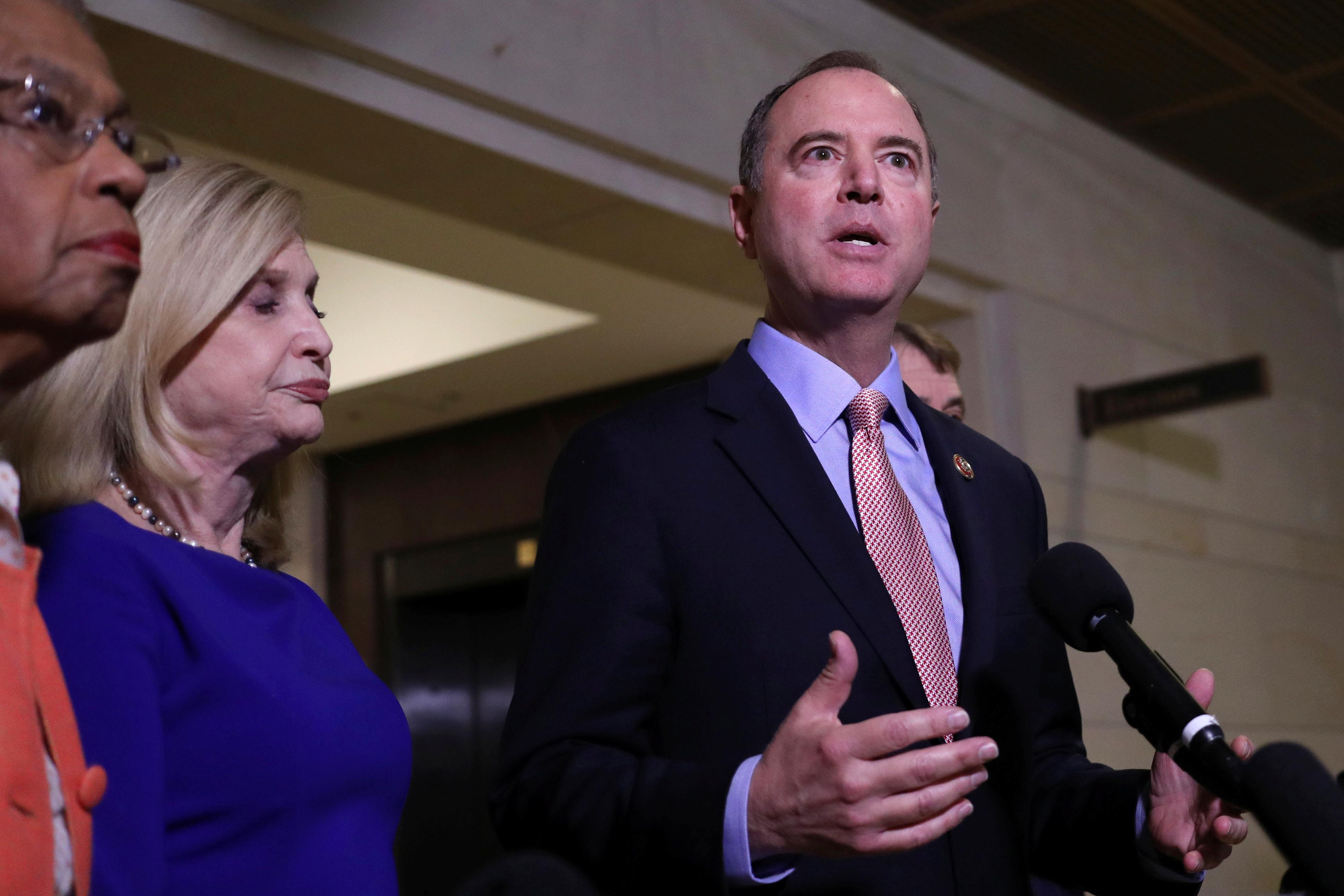 Schiff: Impeachment hearings no place for conspiracy or targeting...