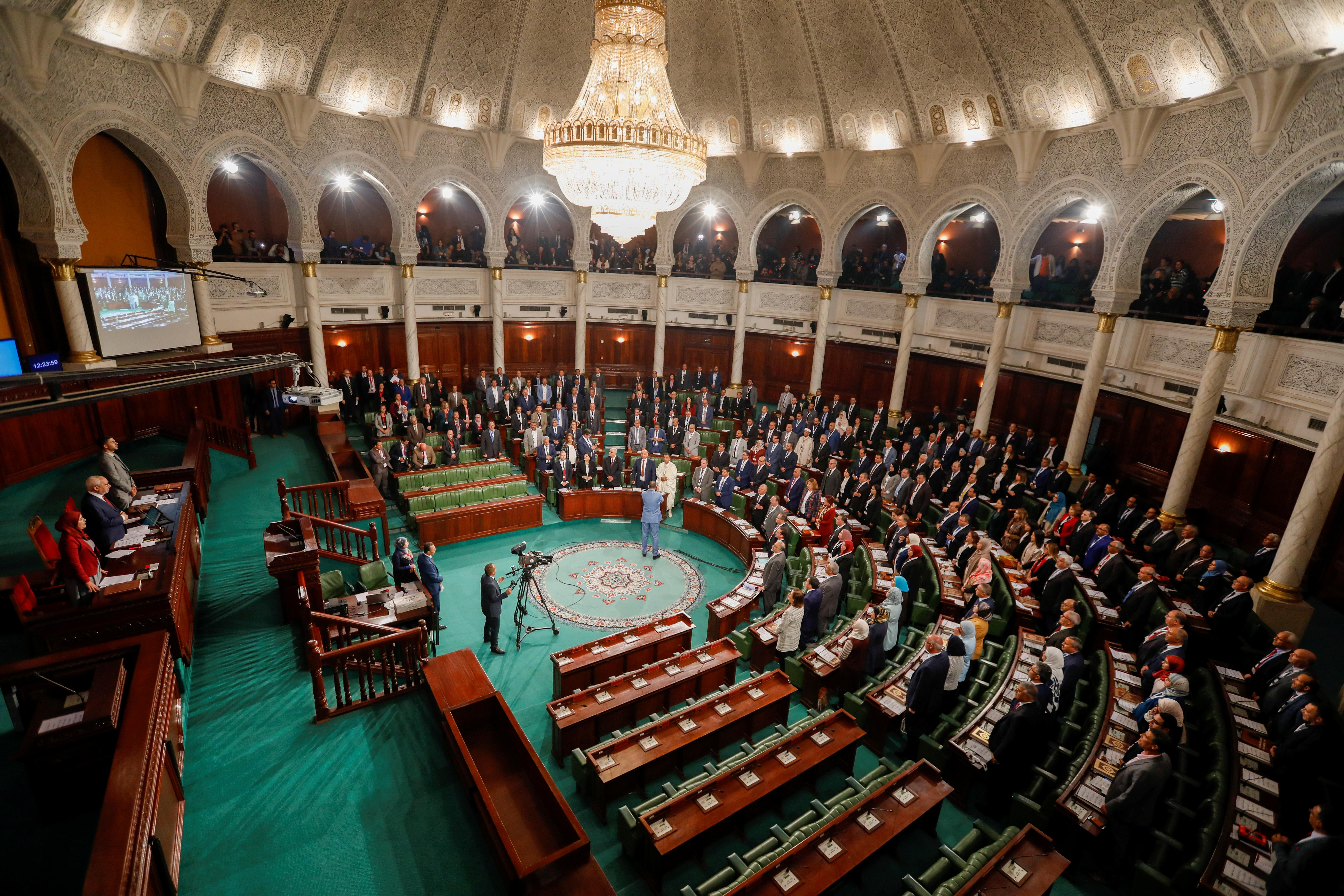 Tunisia's parliament picks moderate Islamist party leader as speaker