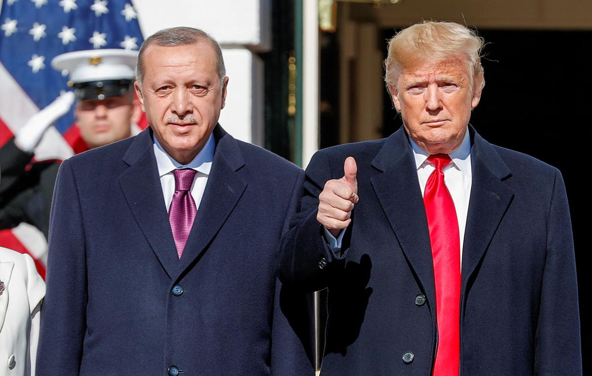 Trump tells Erdogan purchase of Russia defense system is 'very serious challenge'