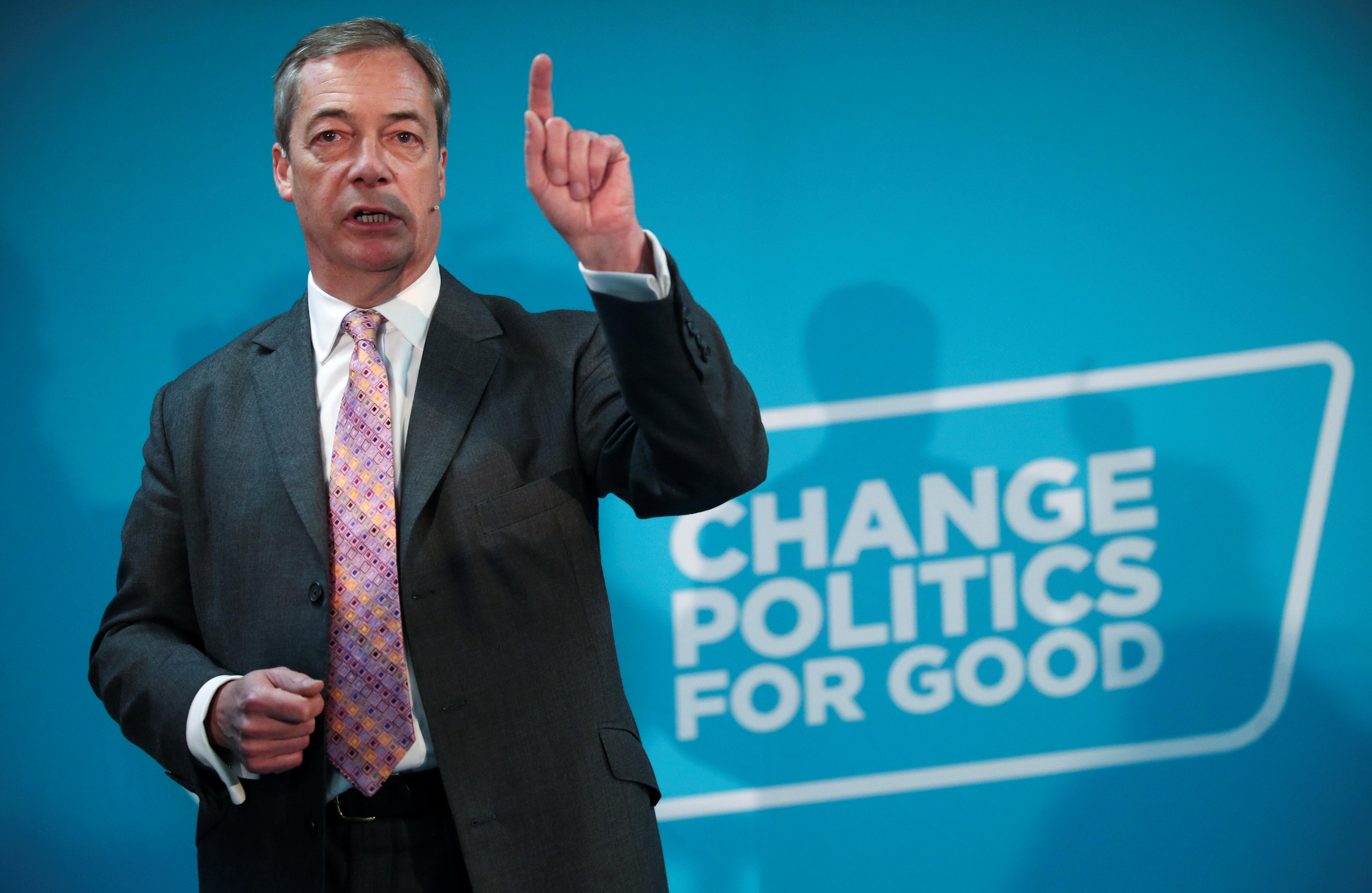 Brexit Party's Farage turns down electoral pact offer from PM...