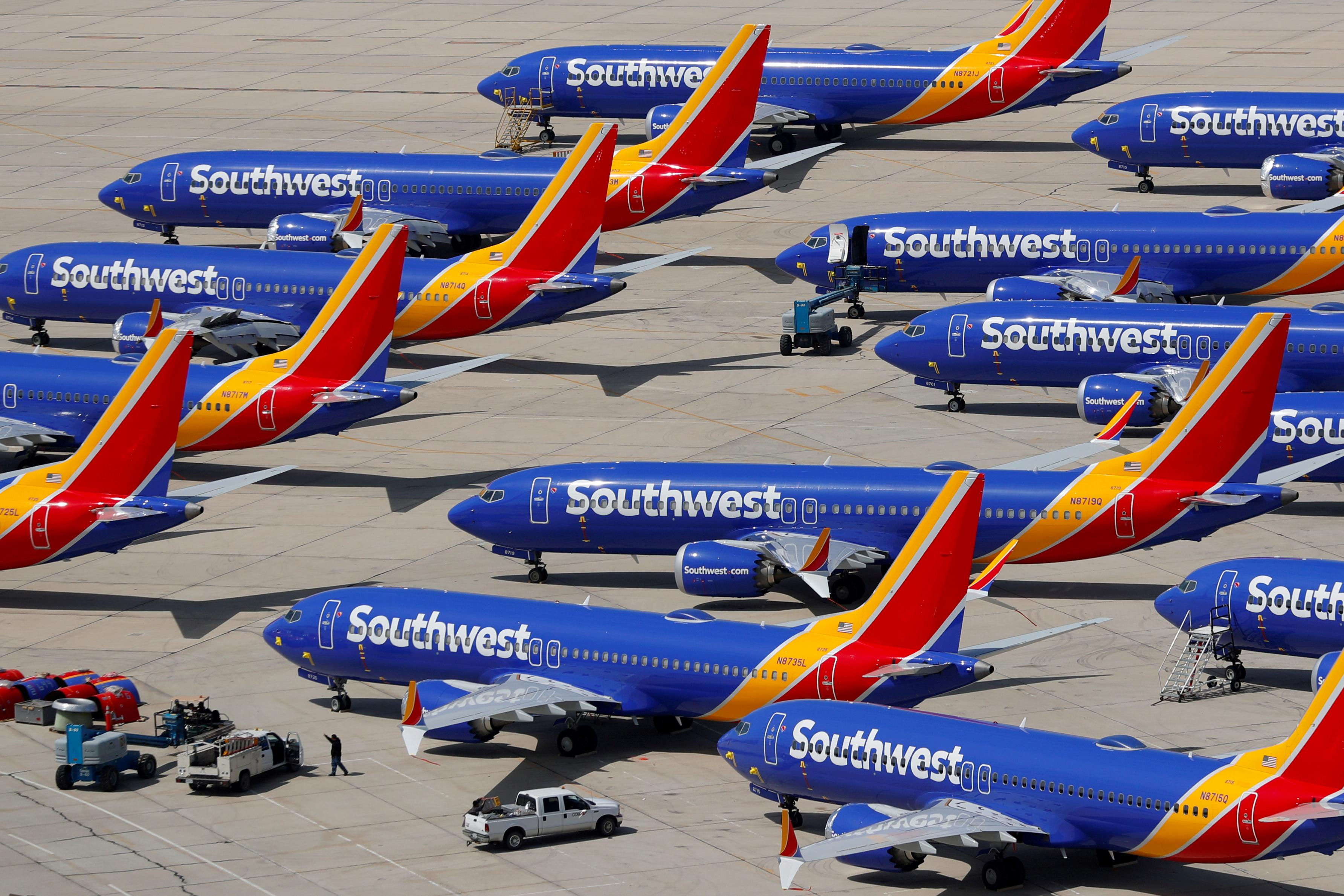 Southwest pilots union says Boeing may be trying to hasten 737 MAX...