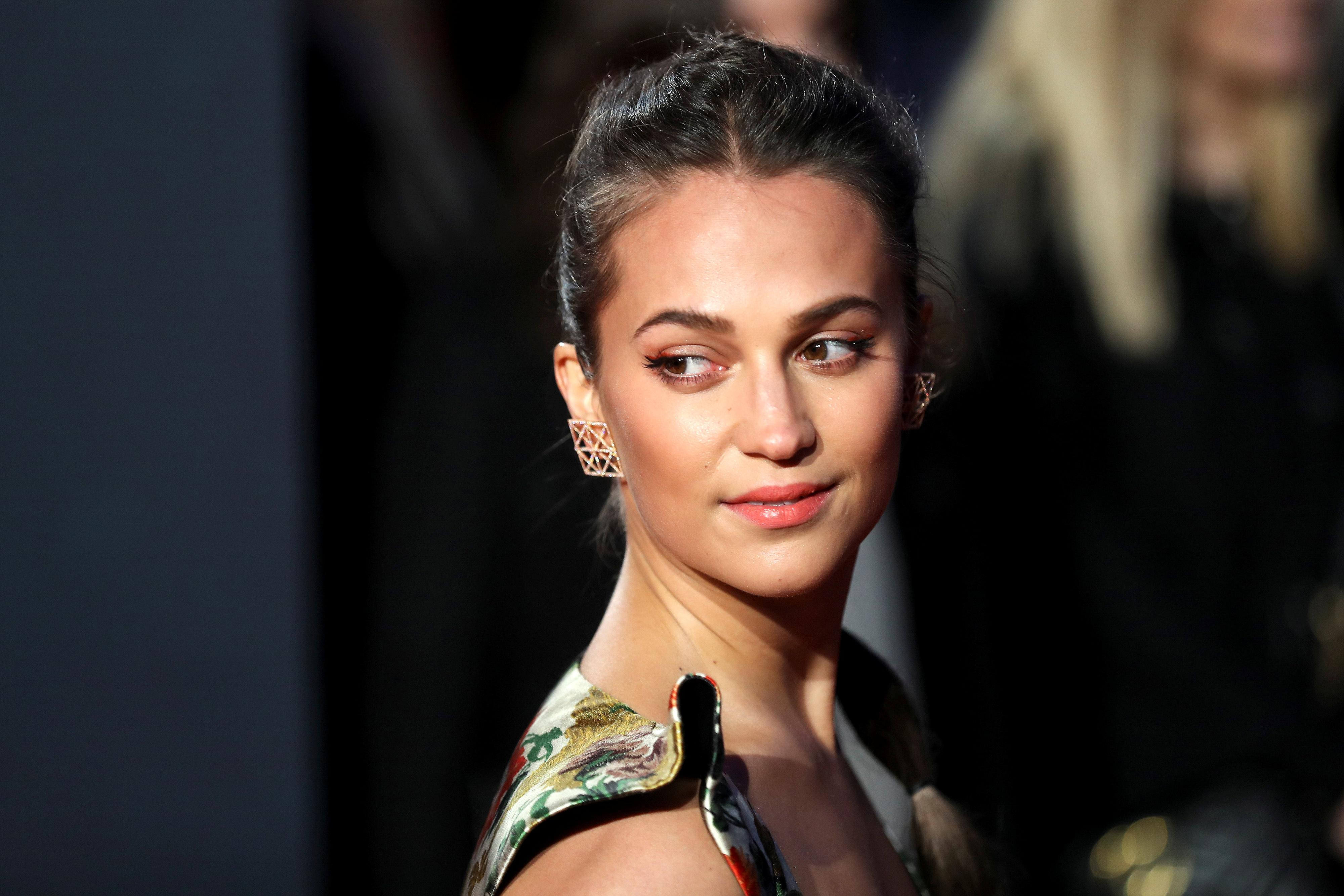 A Minute With: Alicia Vikander, Wash Westmoreland on thriller...