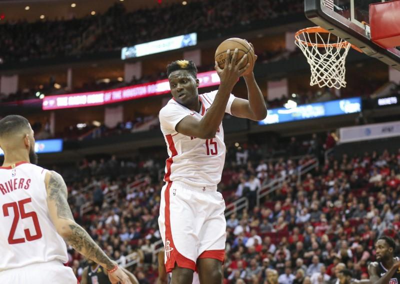 Report: Rockets C Capela evaluated for concussion
