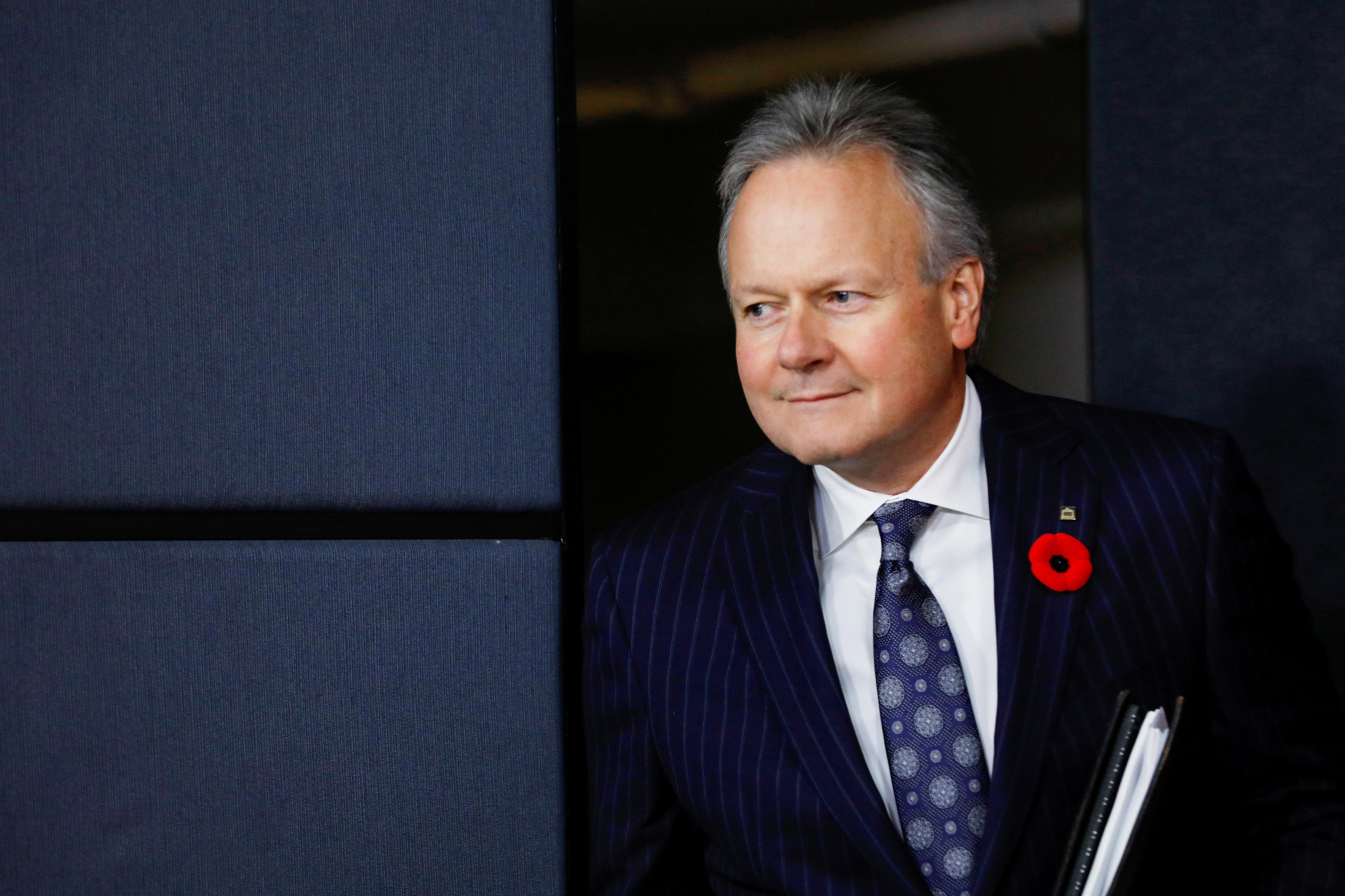 Bank of Canada governor says technological change may call for...
