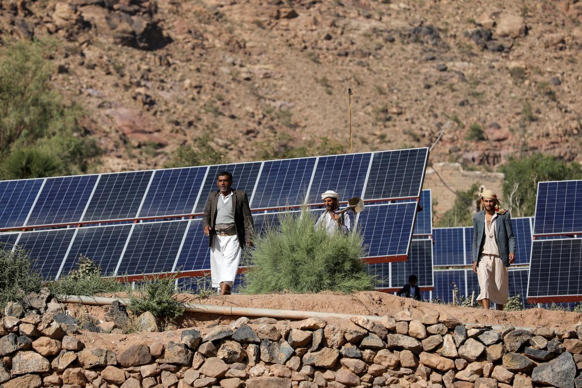 Yemenis go solar amid war energy shortage