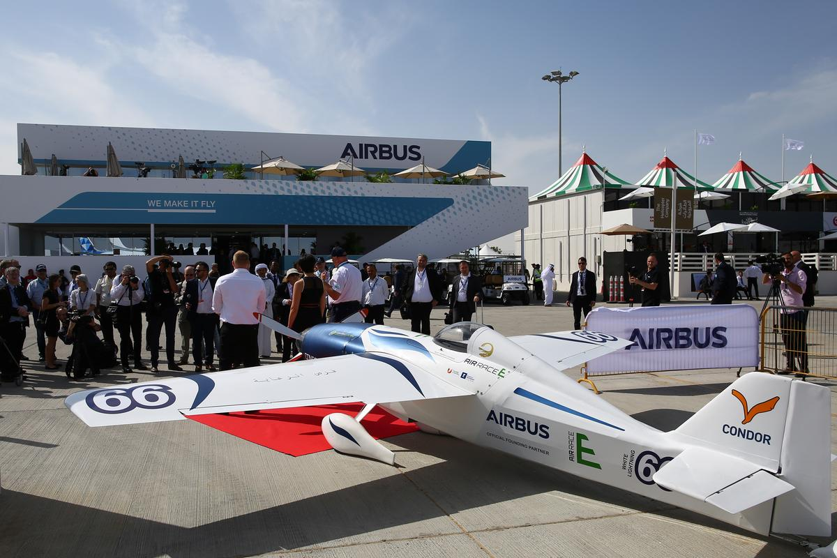 Giải đấu được Airbus hỗ trợ ra mắt máy bay đua điện đầu tiên