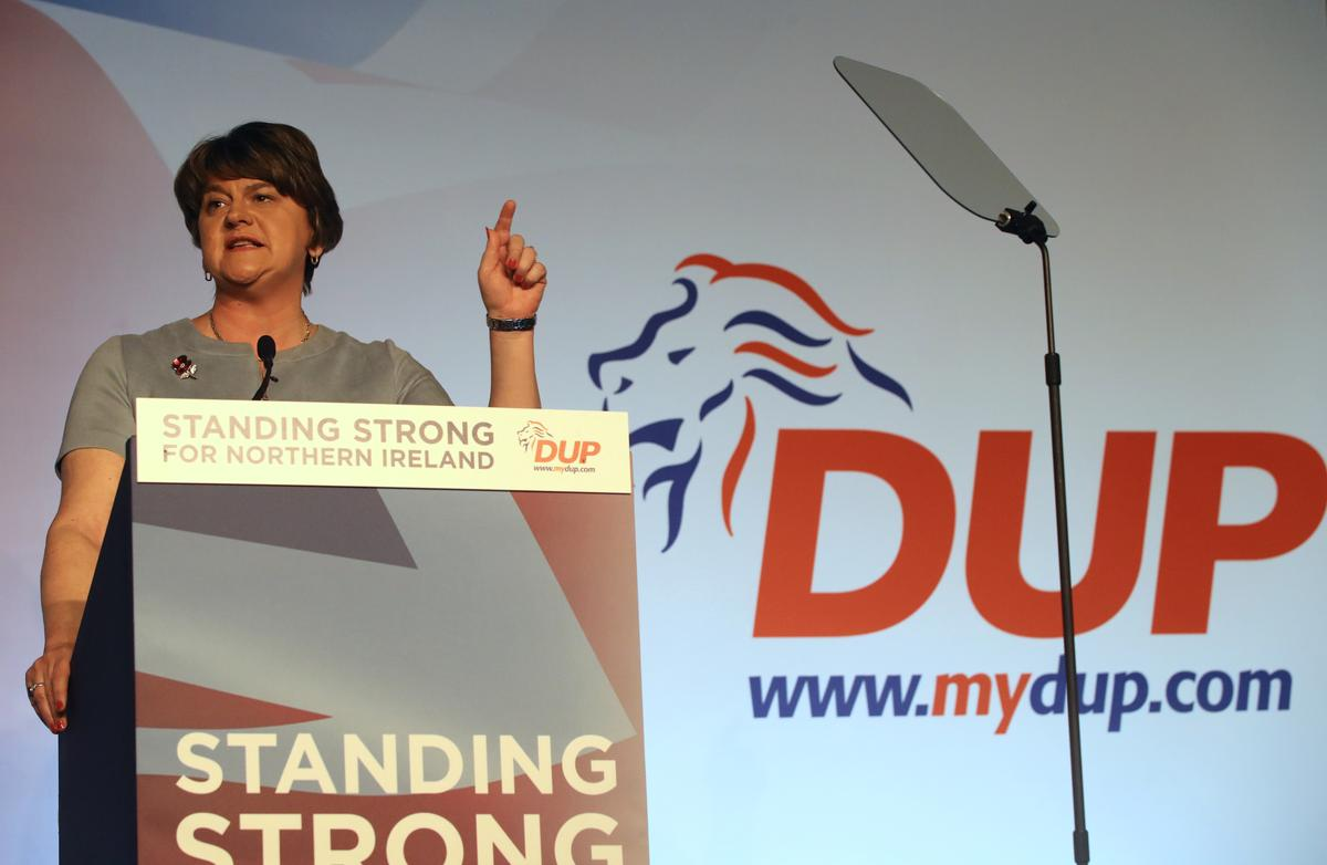 Northern Ireland's DUP will not support a Corbyn-led government