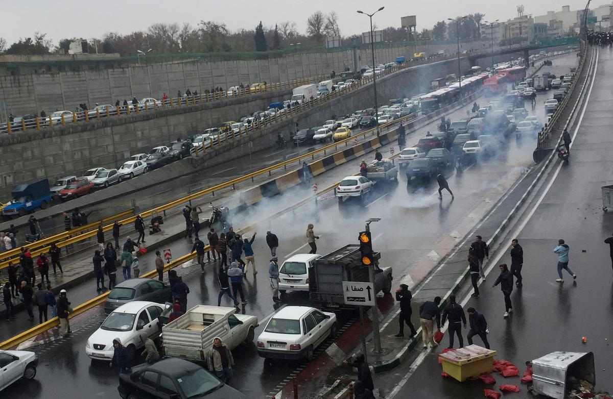 U.N. rights office urges Iran to rein in security forces at protests
