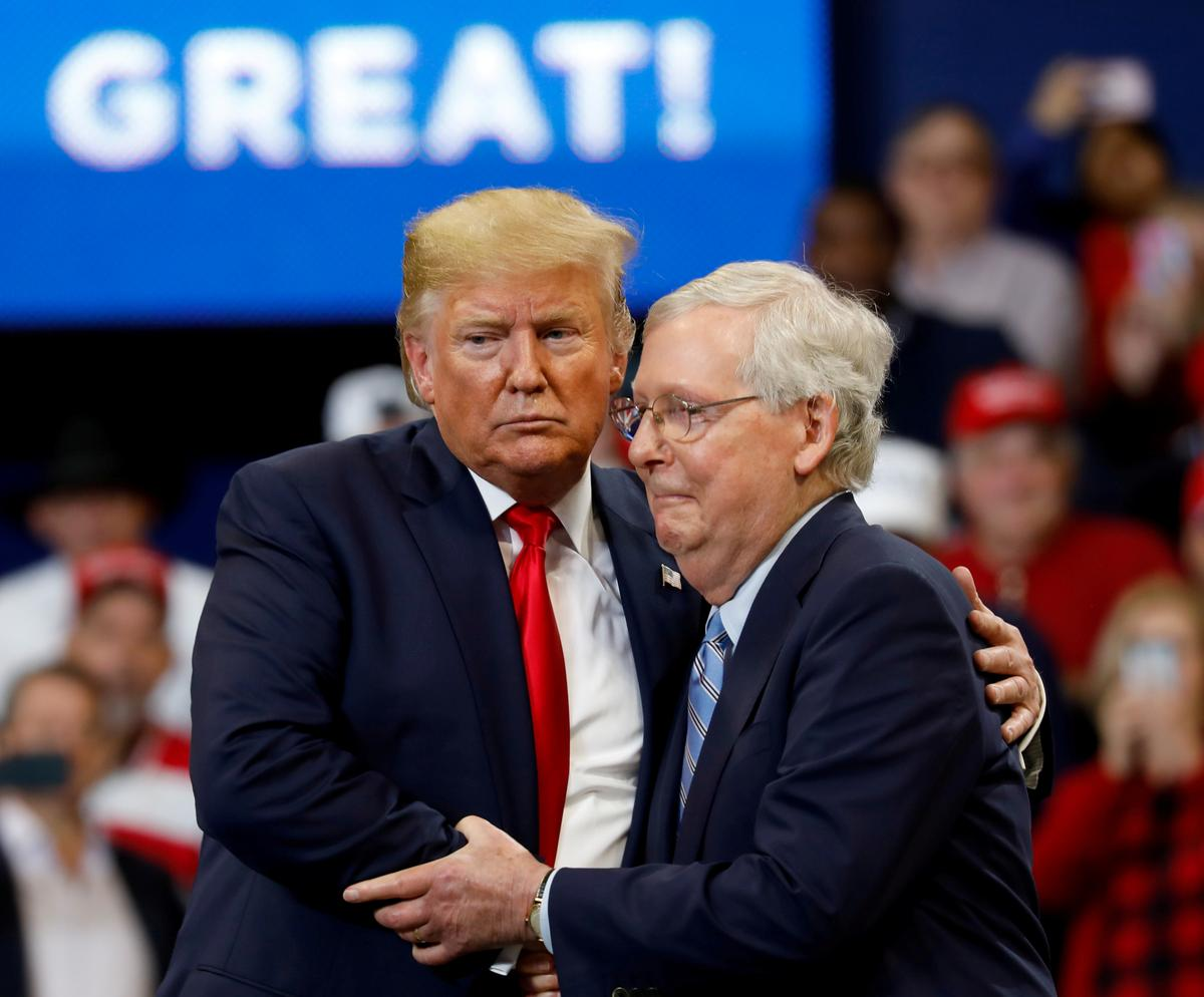 McConnell says 'inconceivable' U.S. Senate will have votes to...