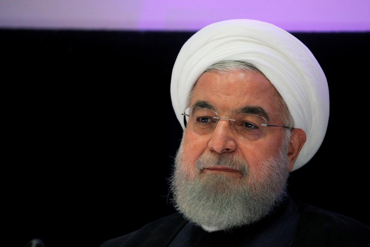 Iran's Rouhani claims victory over unrest he blames on foreigners