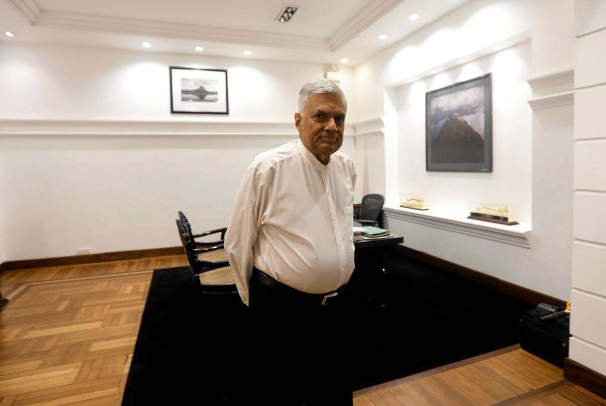 Sri Lankan PM Wickremesinghe to resign on Thursday: spokesman