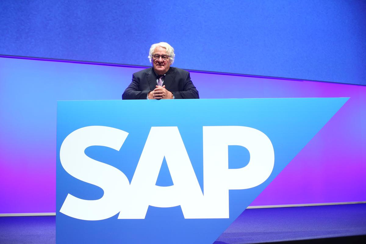 SAP founder and chairman sells 100 million euro stake, holding now 6.2%