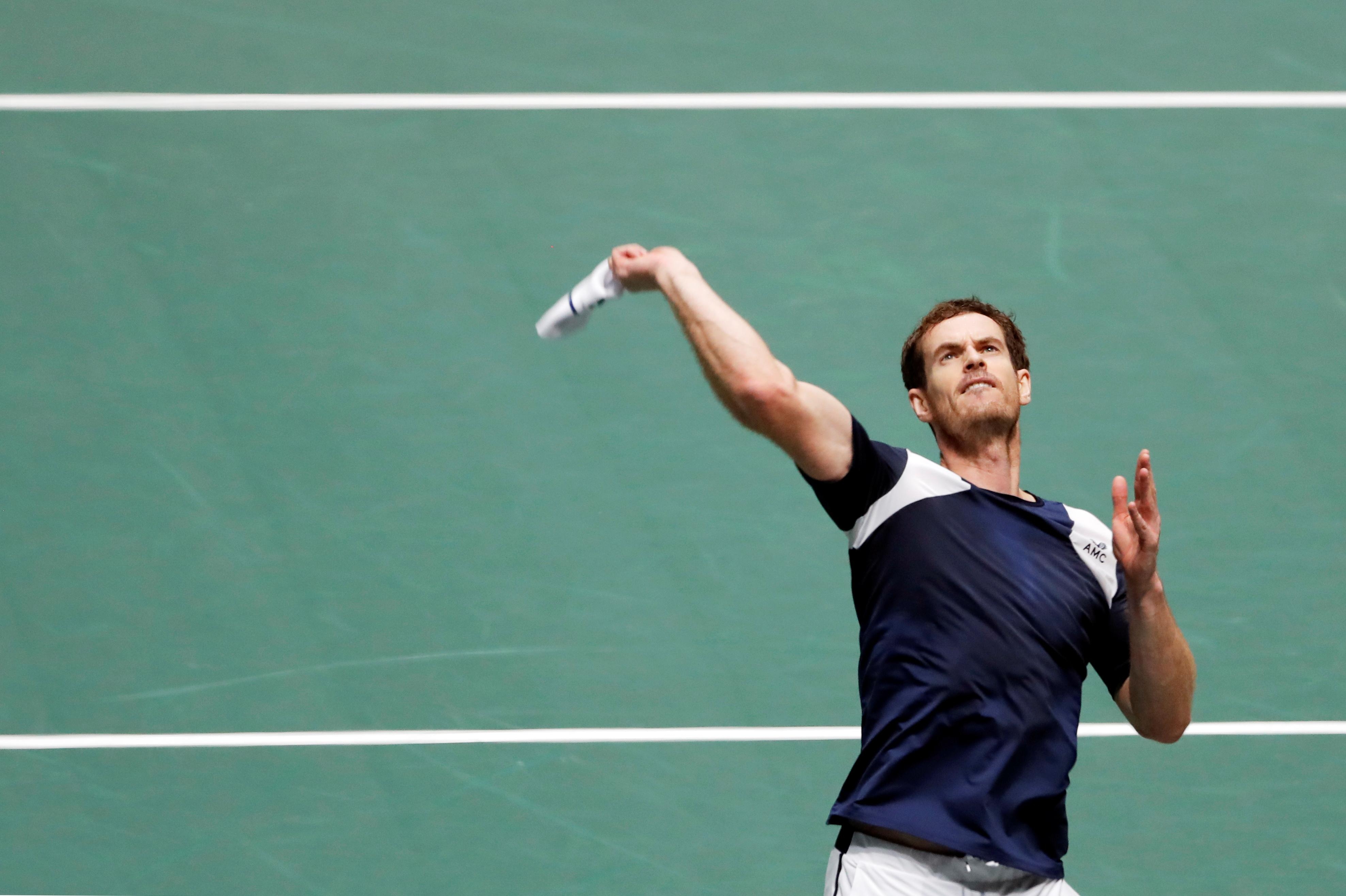 Murray admits being out of shape after Davis Cup scare