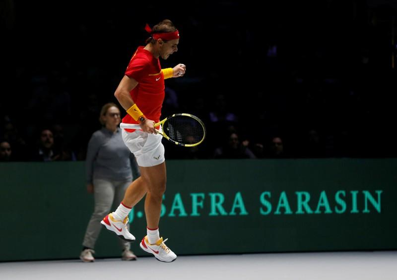 Davis Cup Finals turning into the late, late show