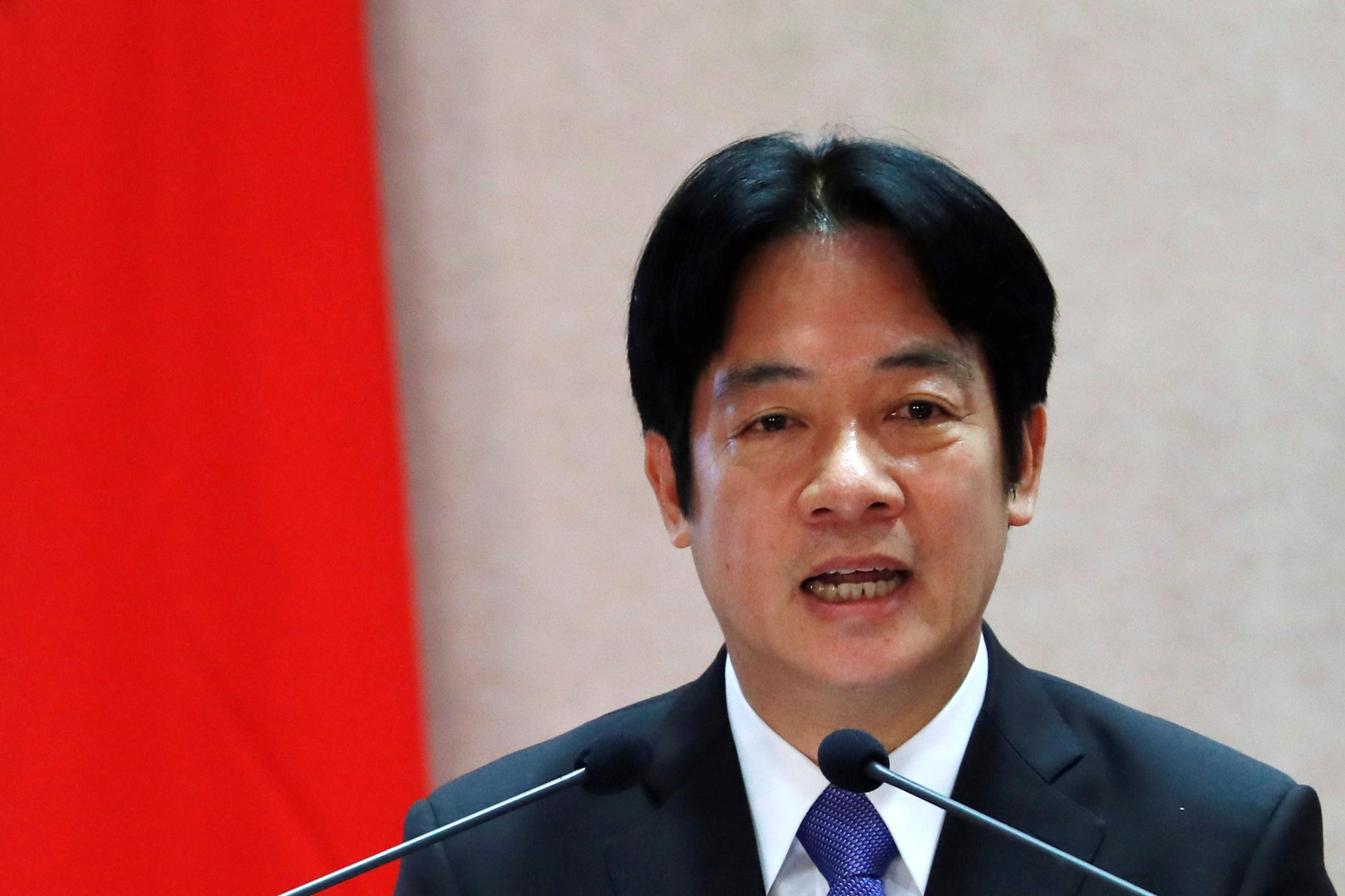 China says Taiwan courting 'disaster' after pre-election comment on...