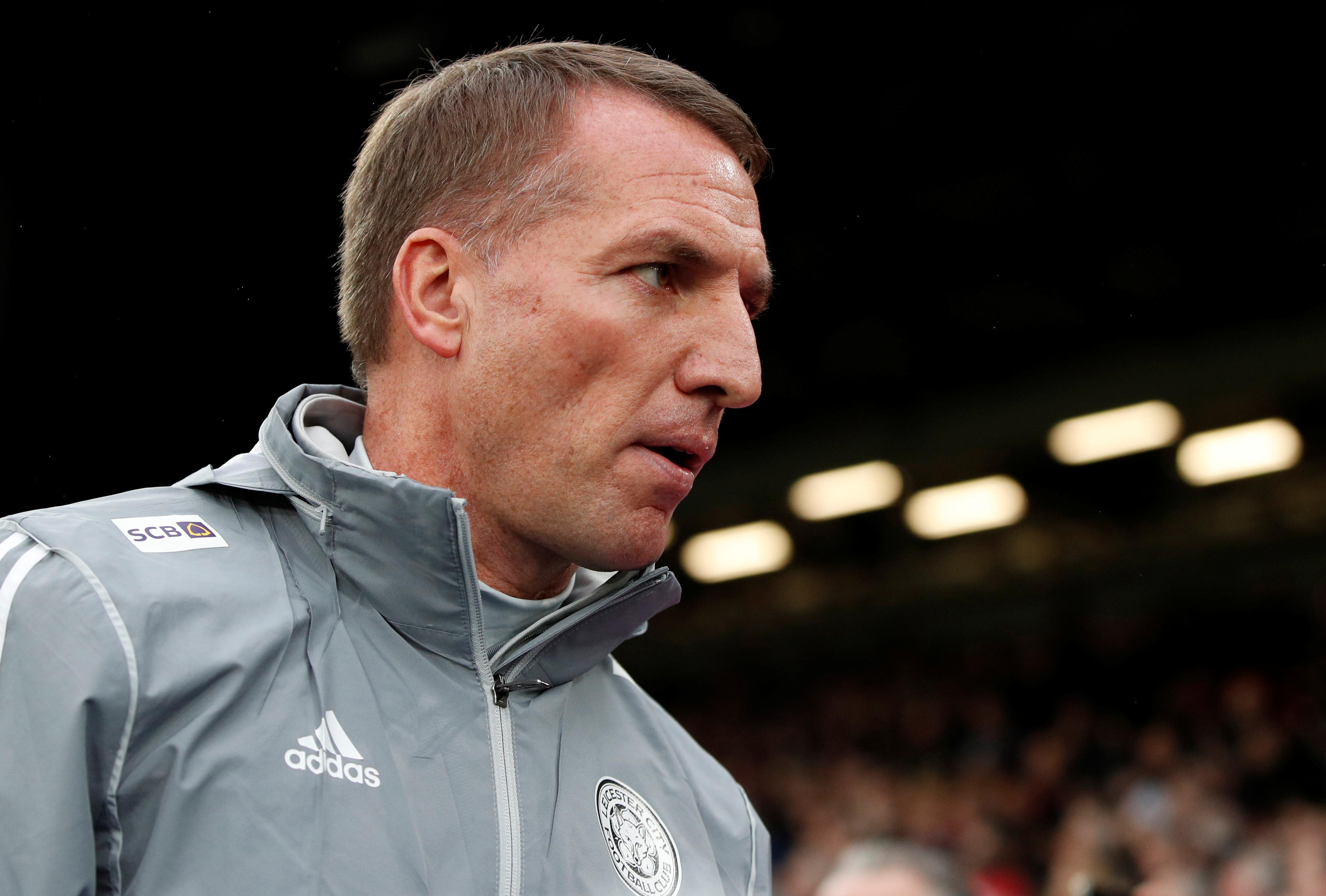Leicester will not sell players in January, says Rodgers