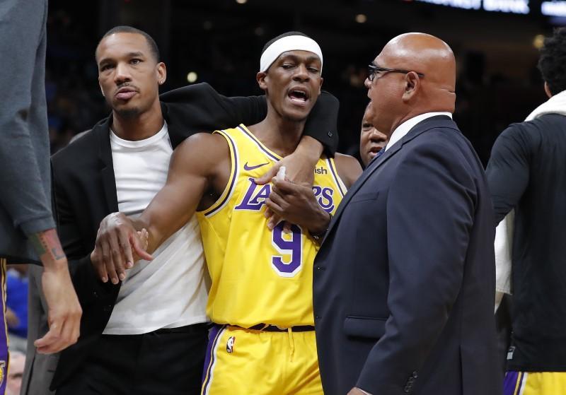 NBA notebook: Lakers G Rondo hit with $35K fine