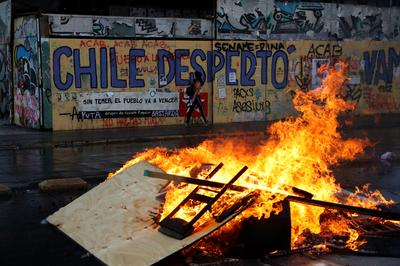 Art of protest: Graffiti of discontent transforms Chile