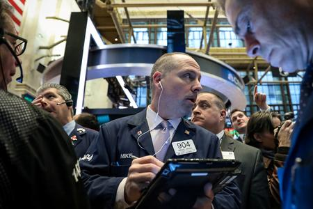 GLOBAL MARKETS-Stocks near record highs on trade hopes, dollar gains