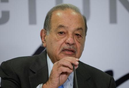 UPDATE 2-Billionaire Slim calls Mexico a 'great opportunity' for institutional investors