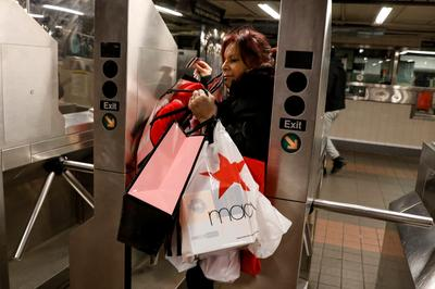 Black Friday shopping frenzy across America