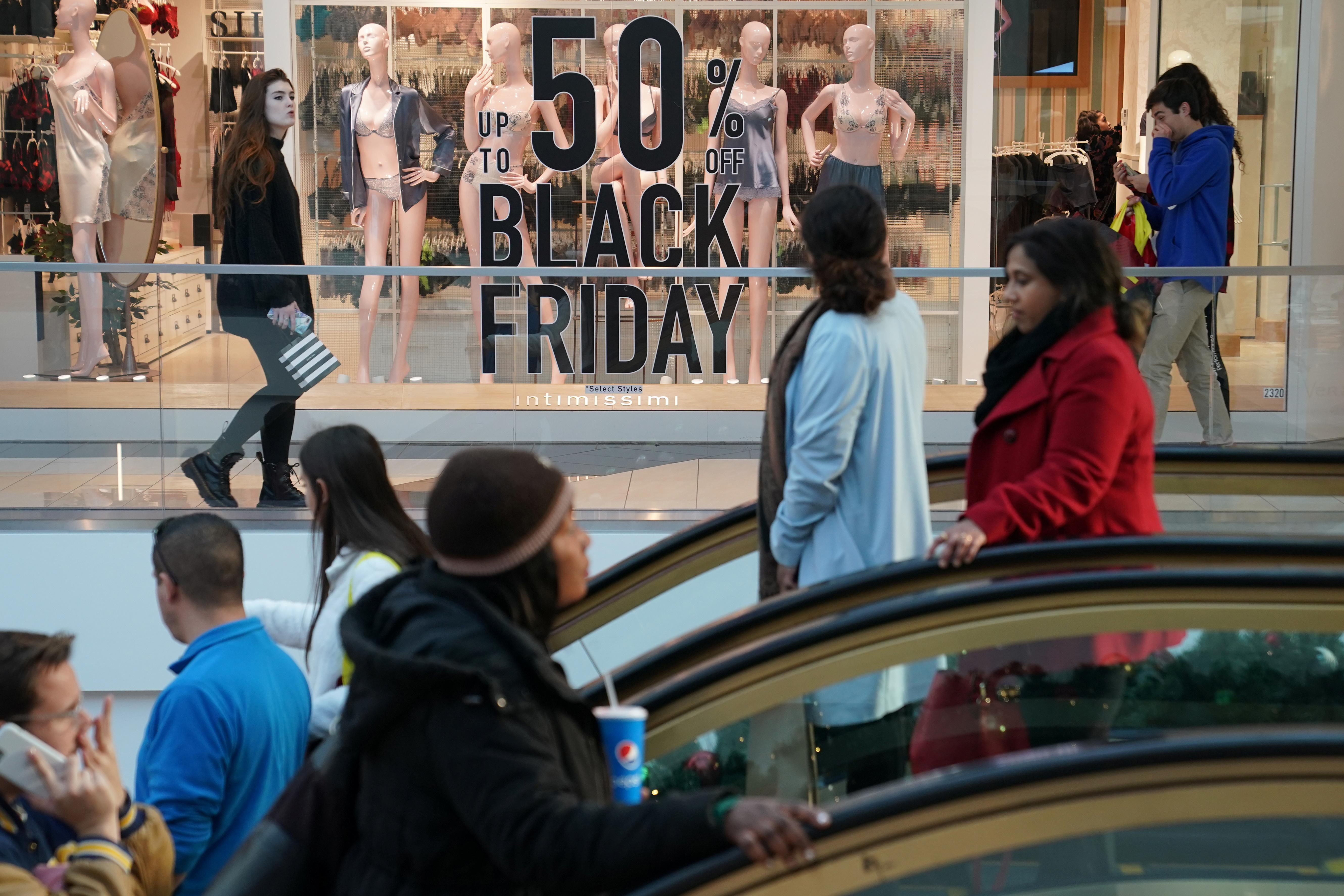 Black Friday shoppers stay away from stores, make $7 billion-plus...