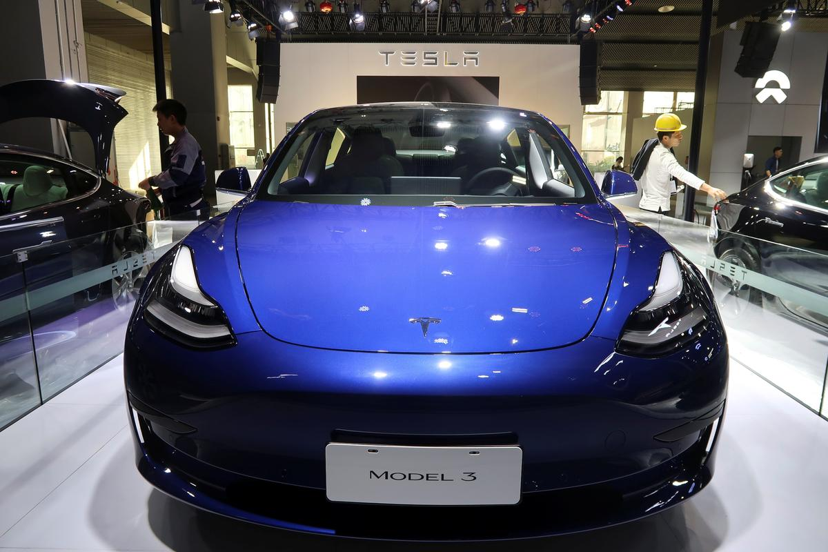 中国、現地生産のテスラ車に新エネ車向け補助金の支給推奨