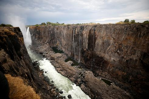 Water flow at iconic Victoria Falls hits lowest level in decades