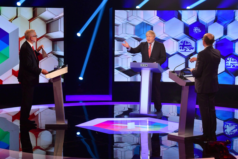 Snap poll shows Johnson narrowly won pre-election TV debate