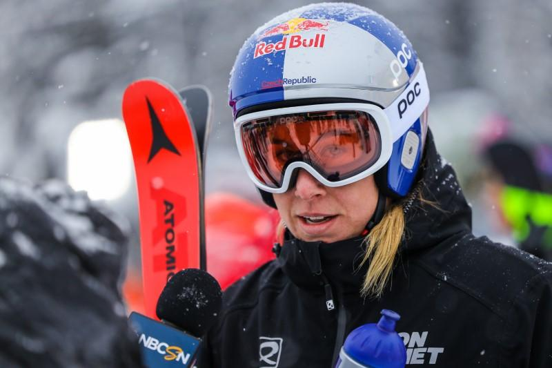 Alpine skiing-Ledecka produces another upset with World Cup...