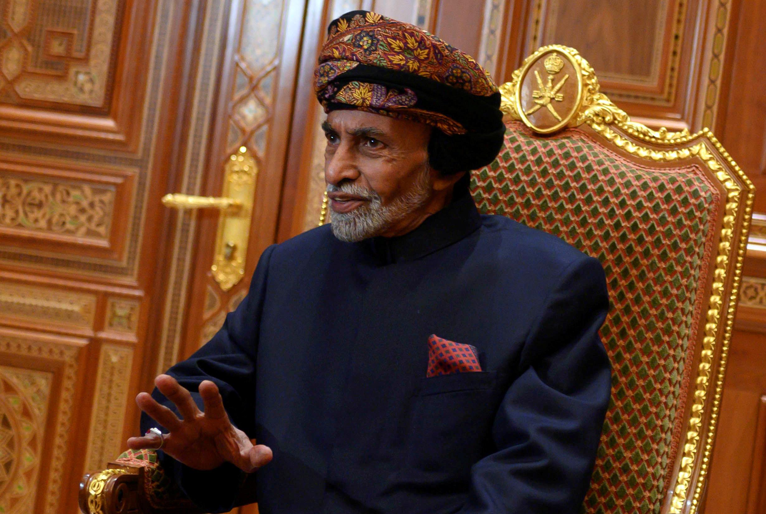 Qaboos of Oman to undergo medical checks in Belgium