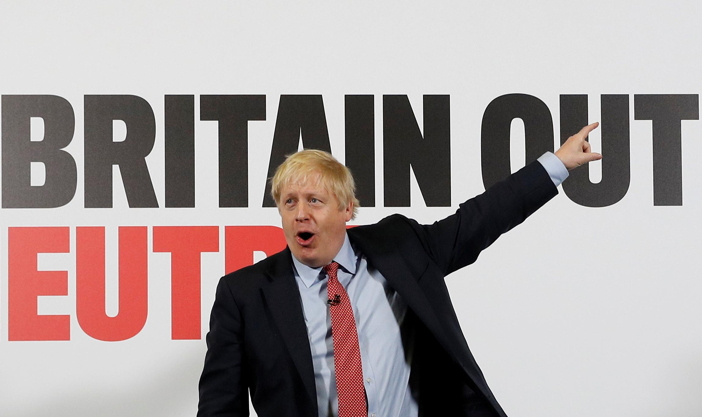 Naughtiest sin? PM Johnson admits cycling on the pavement