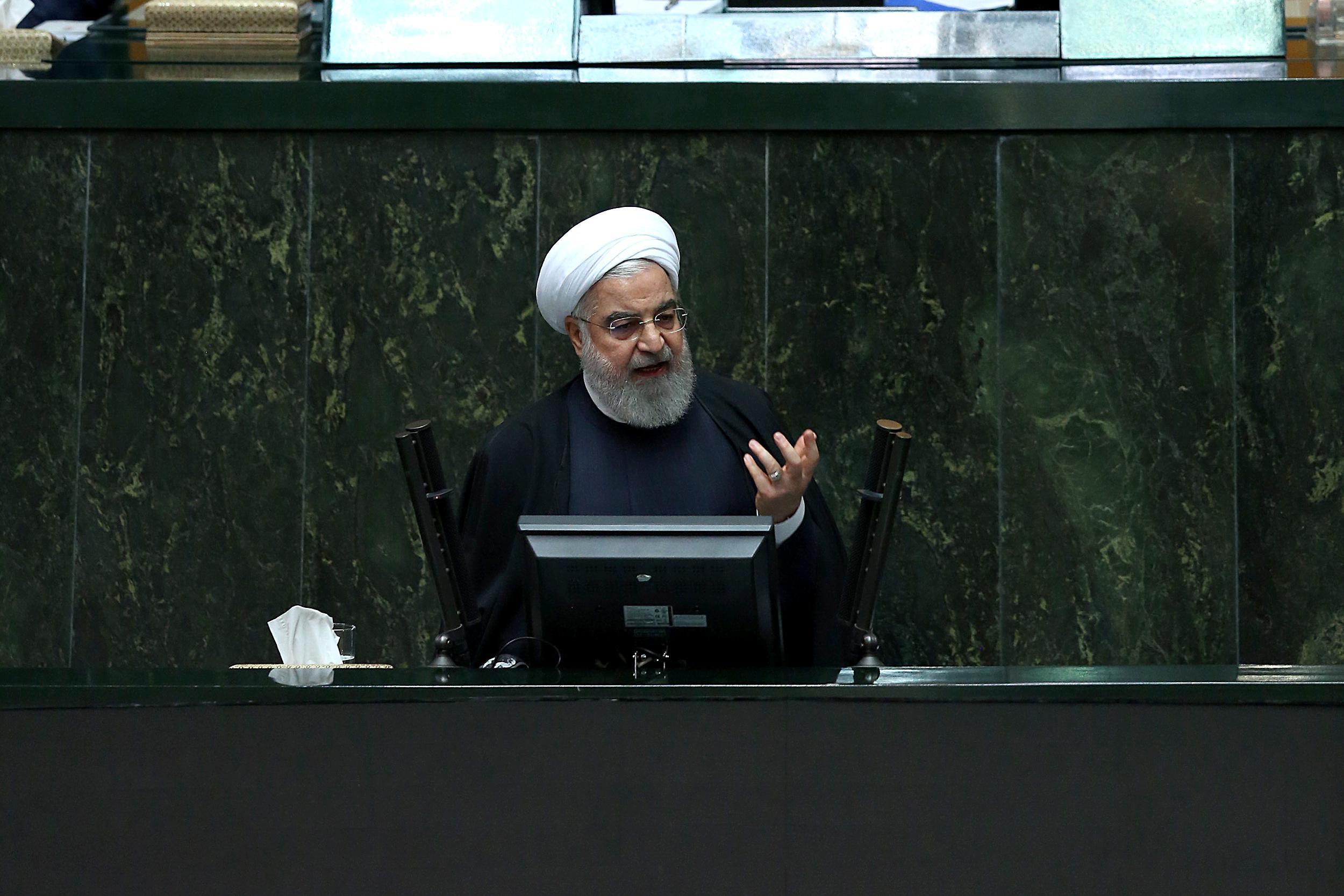 Iran outlines budget to resist U.S. sanctions as oil exports plunge