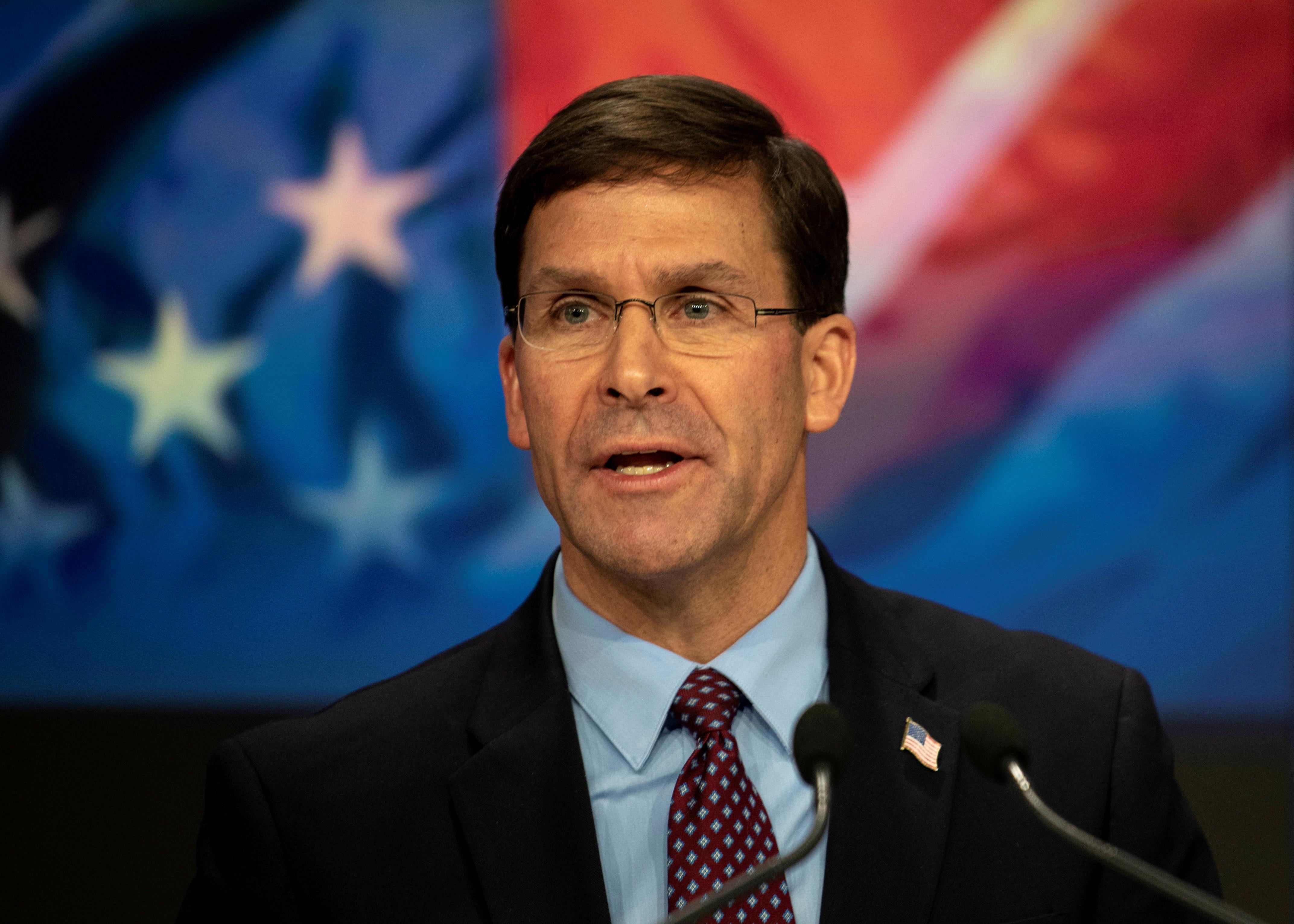 U.S. defense secretary securing military bases after Florida shooting