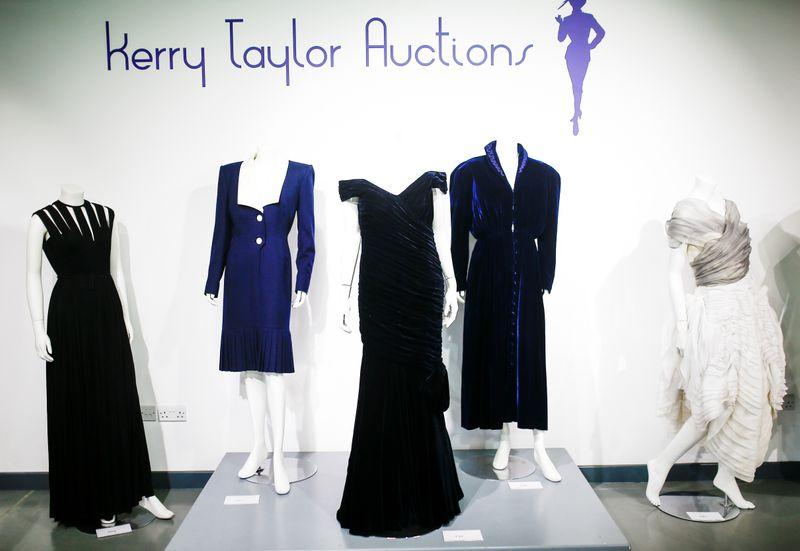 Dress Diana wore as she danced with Travolta fails to sell at auction