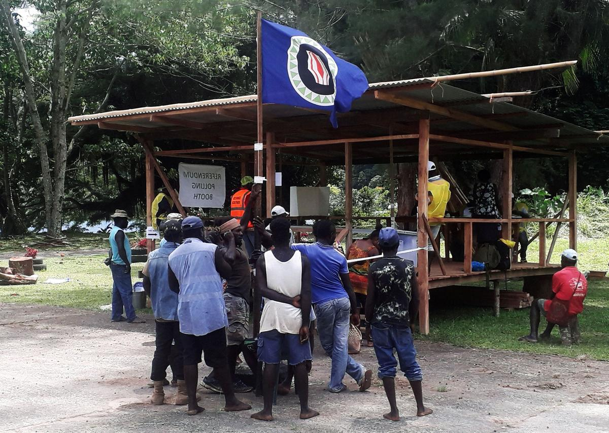Bougainville independence hopes rise as vote counting set to begin
