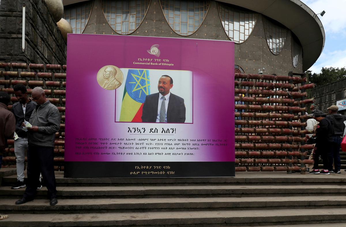 Nobel peace laureate Abiy to say militants, global powers threaten Horn of Africa
