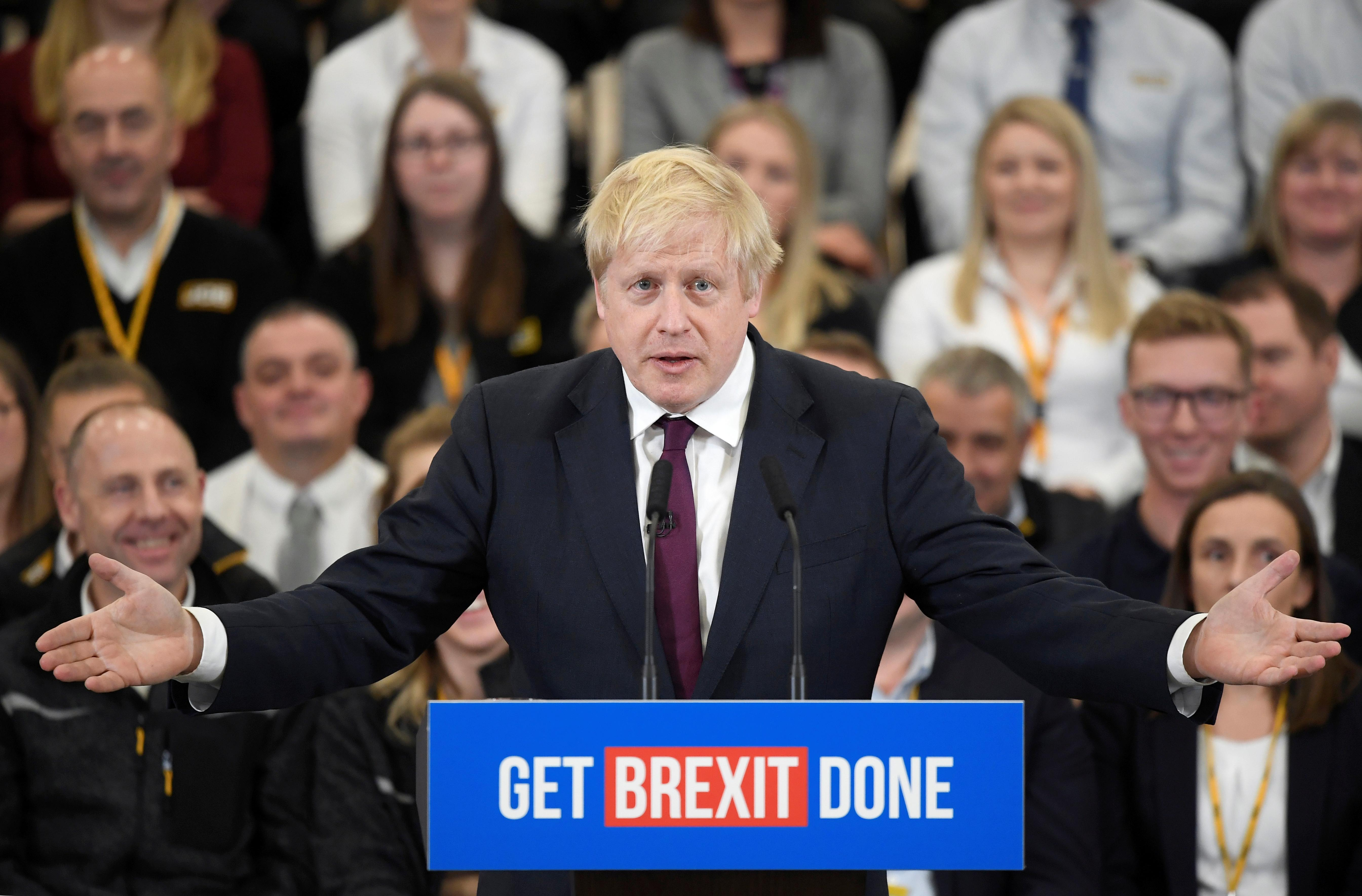 We can rip up the EU rule book, Johnson tells UK voters